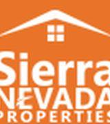 Sierra Nevada Properties, Agent in Reno, NV