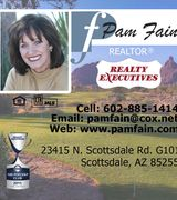 Pamela Fain, Real Estate Agent in Scottsdale, AZ