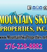 Mountain Sky Properties, Real Estate Agent in Wytheville, VA