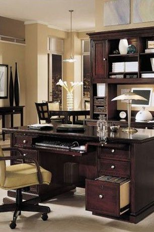 Modern Home Office with Wildon Home ? High-Back Rochester Executive Chair