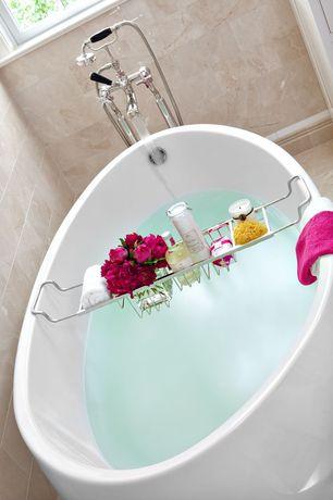 Contemporary Master Bathroom with Signature hardware boyce acrylic tub