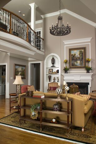 Traditional Living Room with Paint 1