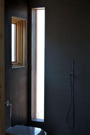 Modern Full Bathroom with pental porcelain mark graphite, Modern Bathroom Toilet - One Piece Toilet - Dual Flush