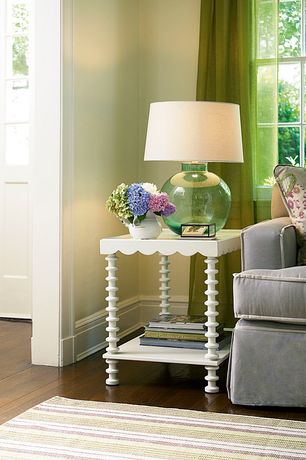 Contemporary Living Room with Our boat house catalina slipcovered sofa, Paint 1, Shades of light demijohn table lamp, Paint