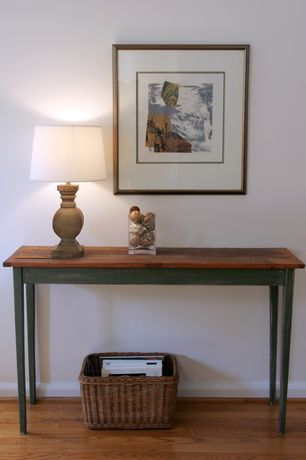 Country Hallway with Birch lane marlena table lamp, Art desk, Standard height, Safavieh lindy one drawer console table
