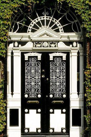 Eclectic Front Door