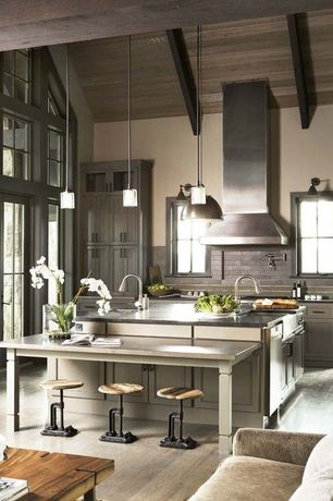 Modern Kitchen with Paint