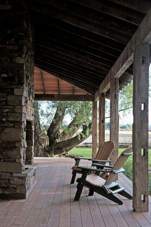 Country Porch with Wrap around porch, Pathway