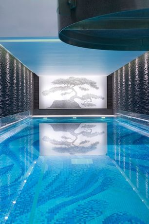 Asian Swimming Pool with Indoor pool