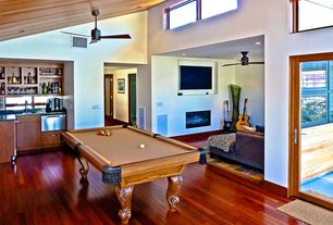 Contemporary Game Room