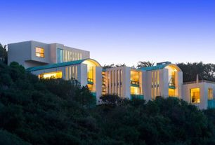 Art Deco Exterior of Home