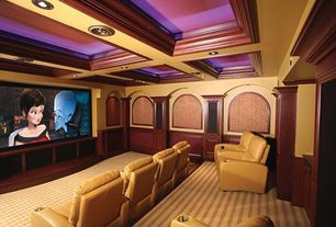 Mediterranean Home Theater