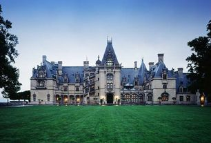 Traditional Exterior of Home with Chateau-esque style, Biltmore estate, Asheville, north carolina