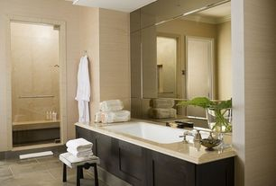 Contemporary Master Bathroom with Arizona tile, FIBRA SERIES, Ceramic & Porcelain, Paint, Arizona tile, MATALA TAN, Quartz