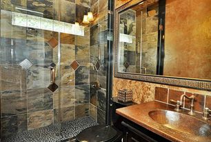 Mediterranean 3/4 Bathroom