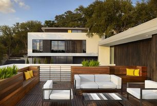Contemporary Deck with Paint