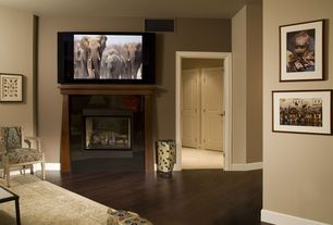 Contemporary Living Room with Escala condominiums, seattle, washington, Pottery Barn Malika Persian-Style Rug