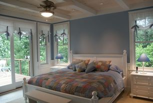 Cottage Master Bedroom with Lang Furniture Post Bed