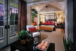 Tropical Master Bedroom with Tommy bahama kingstown sovereign poster bed