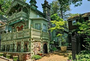 Eclectic Exterior of Home