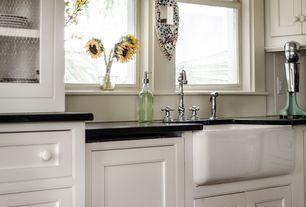 Cottage Kitchen with Quartz countertop
