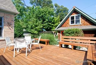 Craftsman Deck with Casement
