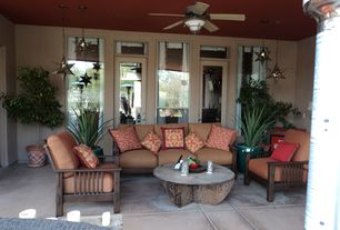 Eclectic Patio