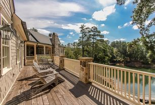 Traditional Deck with Wrap around porch
