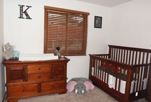 Craftsman Kids Bedroom with Casement, Standard height, Carpet, no bedroom feature