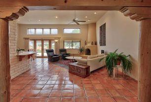 Living Room Terracotta Tile Floors Zillow Digs