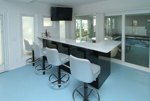 Modern Bar with French doors, Carpet, Furniture of america korzi curvy contemporary adjustable leatherette swivel bar stool