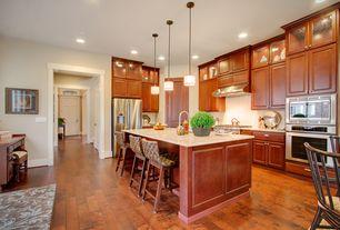 "Traditional Kitchen with specialty door, Raised panel, Empire Industries Quartz Nova 1-1/4"" Thick 25"" x 22-1/4"" Countertop"