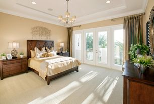 Traditional Sherwin Williams Realist Beige Master Bedroom