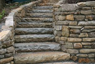 Rustic Staircase