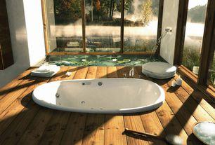 Tropical Master Bathroom with Jasper engineered hardwood - ranch wide plank oak collection, Master bathroom, Hardwood floor
