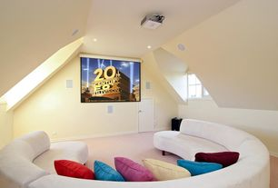 Modern Home Theater with Paint