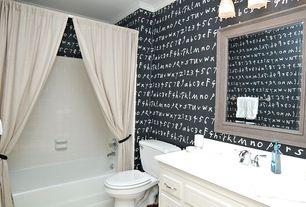 Traditional Full Bathroom with Paint 1, Full Bath, Crown molding, wall-mounted above mirror bathroom light, Shower, Bathtub
