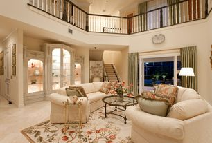 room with Balcony, Casement, Built-in bookshelf, High ceiling, Carpet, French doors, Crown molding