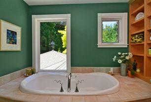 Craftsman Master Bathroom with Paint 1, Arizona Tile Amalfi Beige Porcelain Tile