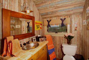 Rustic Full Bathroom