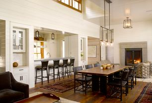 Cottage Great Room with Artistica bar and game room milo barstool, Artistica dining room milo arm chair, Paint 1