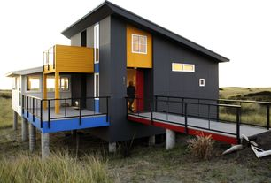 Modern Exterior of Home with Pathway