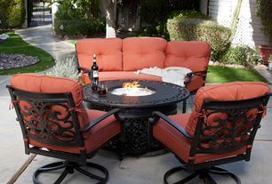 Transitional patio design ideas pictures zillow digs for Outdoor furniture 77386