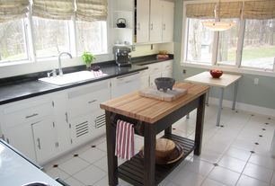 Traditional Kitchen with Kitchen island, L-shaped, Tornliden/ adils table, pine, silver color, Soapstone counters, Soapstone