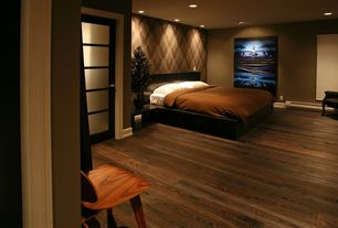 Contemporary Master Bedroom with Modus lucca storage platform bed