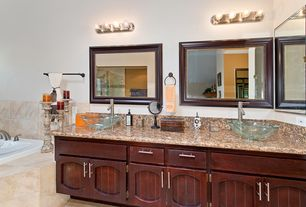 Granite Countertops Watervliet Ny : Contemporary Full Bathroom with High ceiling, Signature Hardware Clear ...