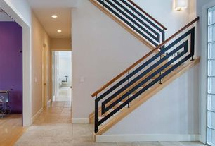 Contemporary Staircase with Paint 2, Paint 3, Paint