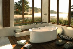 Modern Full Bathroom with Apaiser Piccolo Bathtub