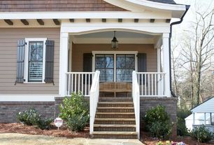 Country Porch with Pathway, exterior stone floors, Screened porch