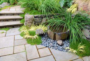 Contemporary Landscape/Yard with Pathway, exterior concrete tile floors, Raised beds, exterior tile floors